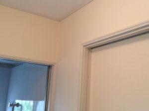 脱衣室の壁紙