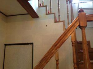 階段室のクロス