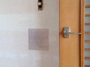 壁の補修パッチ