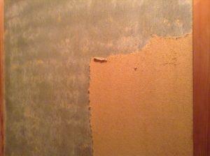 じゅらく壁のはがし
