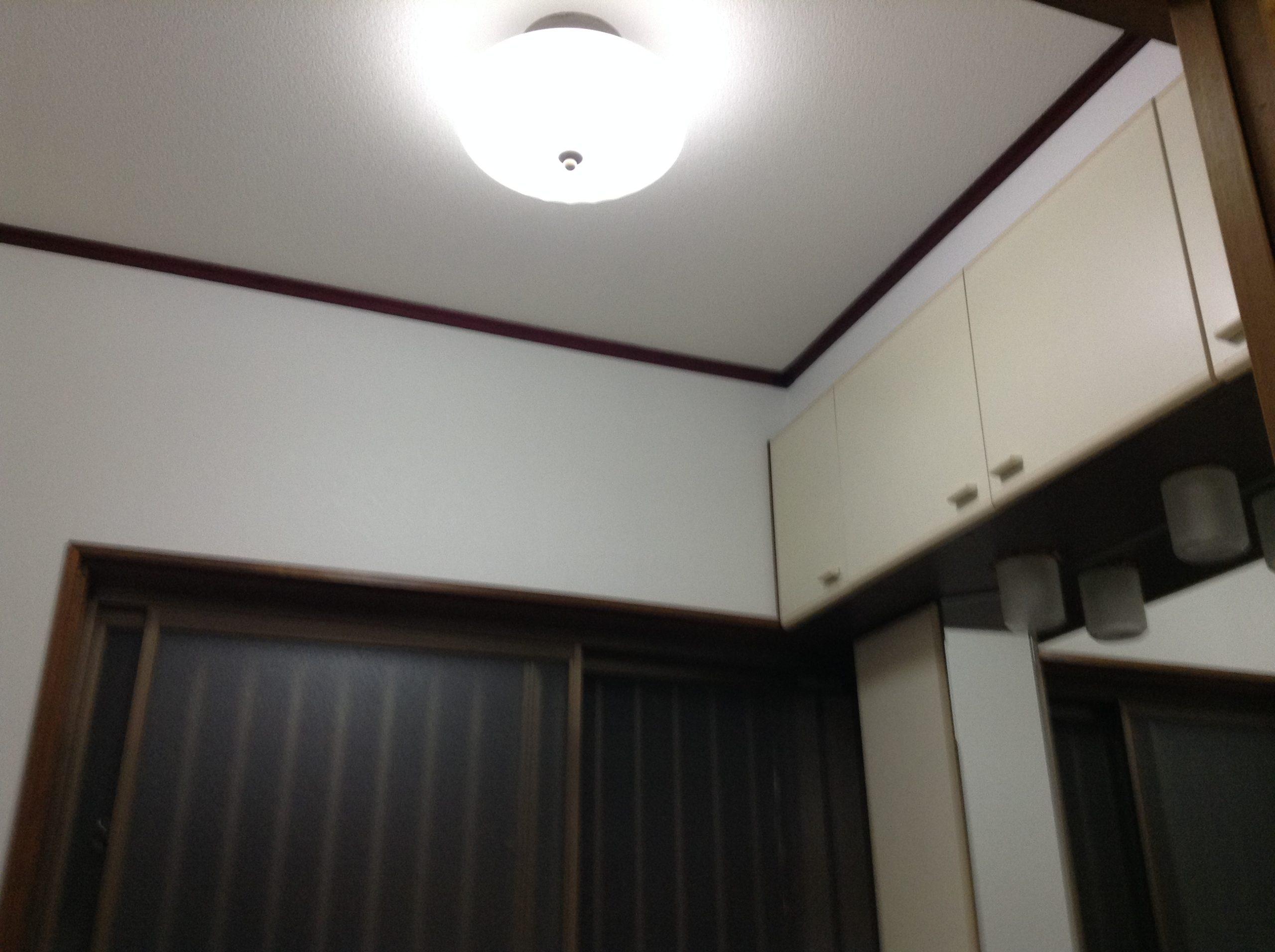 洗面脱衣室のリフォーム壁紙