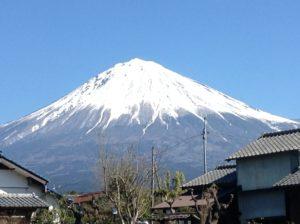きょうの富士山1