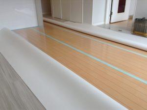 アパートの床
