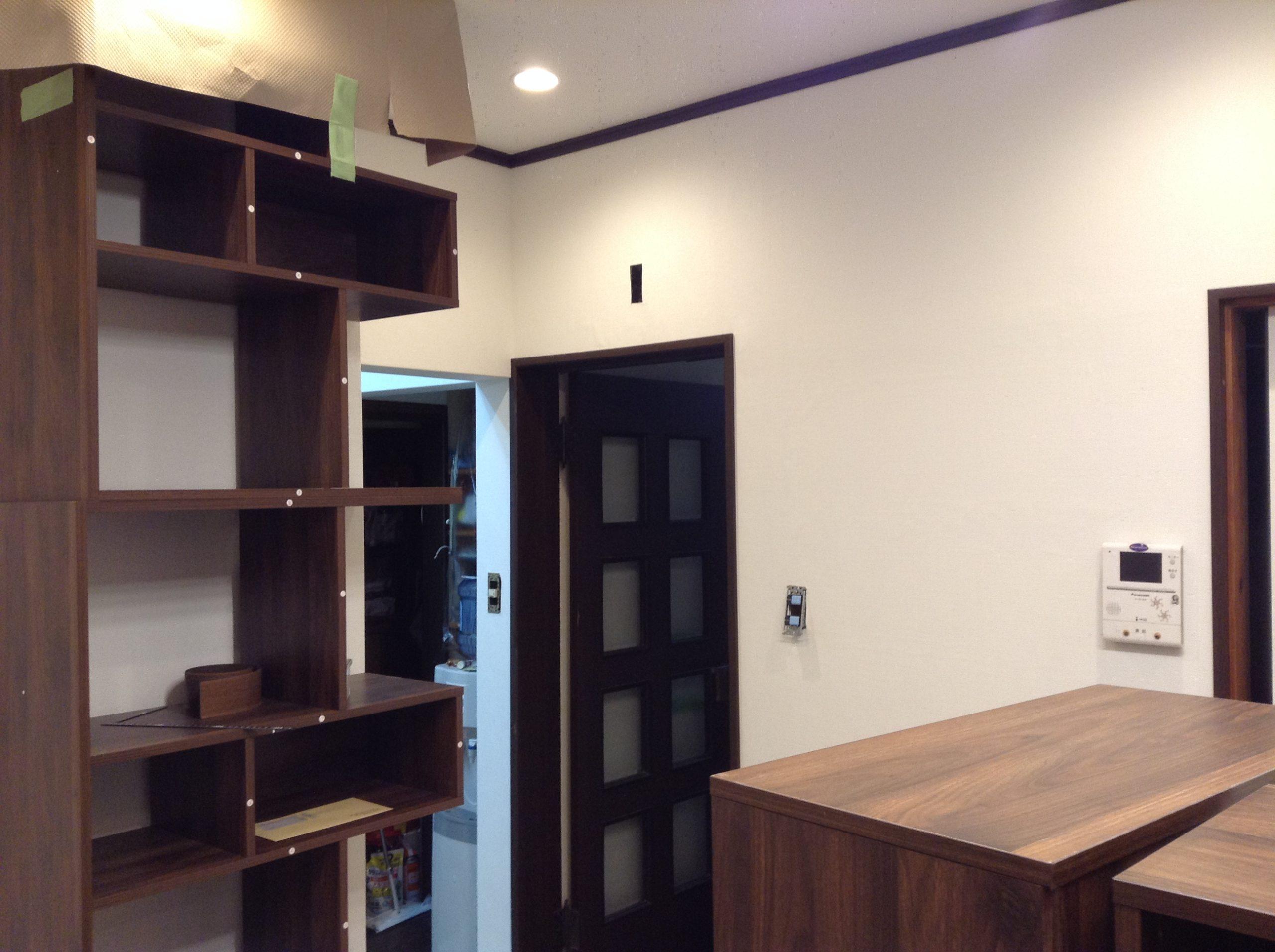 居間の内装リフォーム