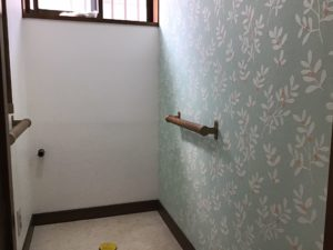 トイレの張替えリフォーム