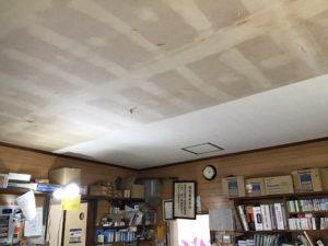 天井貼り替え前の写真