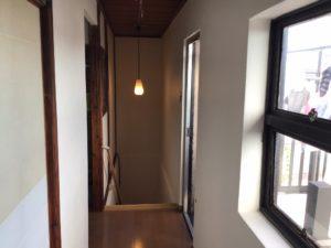 リフォーム前の階段室