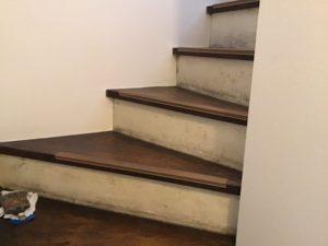 階段リメイク前