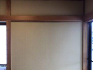 和室の壁クロス仕上げ